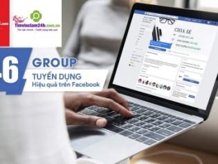 46 Group tuyển dụng trên Facebook hiệu quả nhất Việt Nam